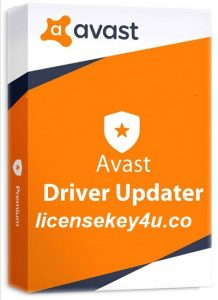 Avast Driver Updater License Key
