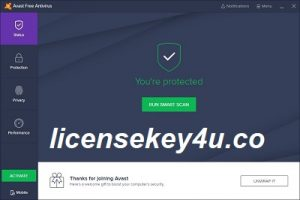 Avast Free Antivirus License Key